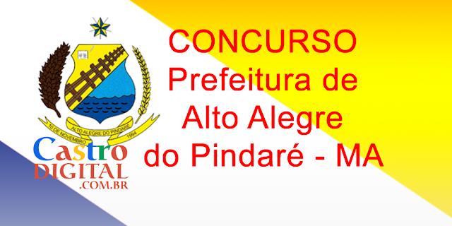 Edital do concurso 2020 da Prefeitura de Alto Alegre do Pindaré – MA