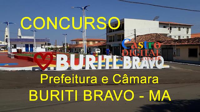 EDITAL do concurso 2020 da Prefeitura e Câmara de BURITI BRAVO – MA está autorizado, veja a lista de cargos e vagas