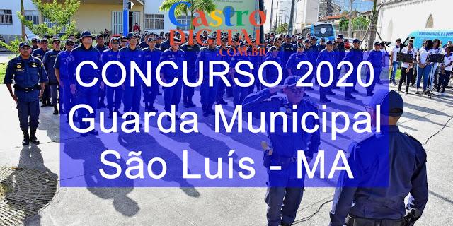 Edital do concurso 2020 para Guarda Municipal de São Luis – MA tem comissão formada