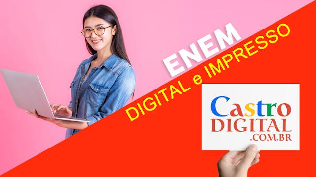 Qual a Diferença entre ENEM digital e impresso?