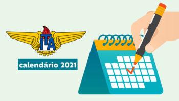 Calendário do vestibular ITA 2021 com provas no Maranhão