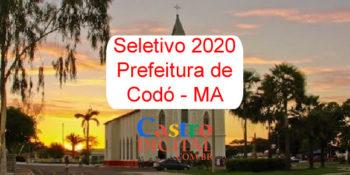 Edital do seletivo 2020 da Prefeitura de Codó – MA
