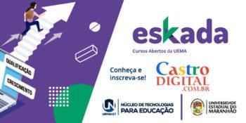 UEMANET lança 4 novos cursos grátis a distância (EaD) na plataforma Eskada