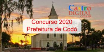 Edital do concurso 2020 da Prefeitura de Codó – MA