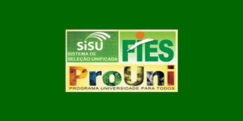 Datas de inscrição do SiSU, Prouni e Fies 2020.2