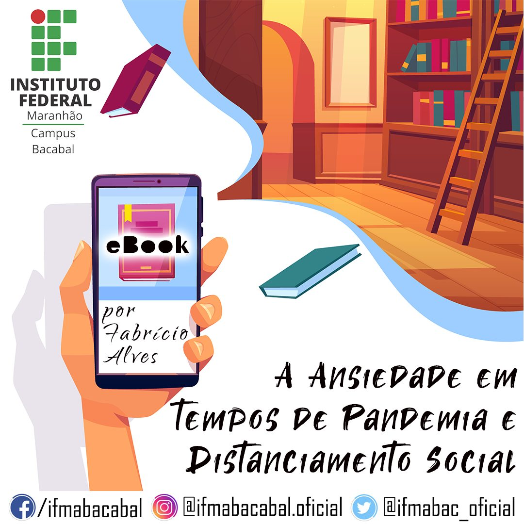 Ebook sobre Ansiedade na Pandemia é lançado por Instituto Federal