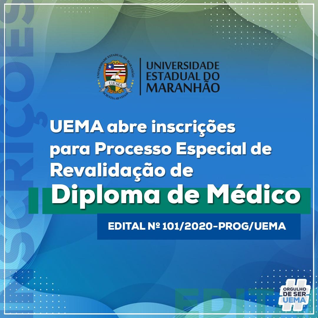 Exame Revalida 2020 UEMA para médicos estrangeiros