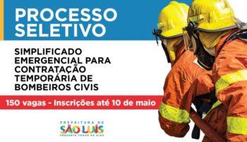 Edital 01/2020 do seletivo para Bombeiro Civil em São Luís – MA