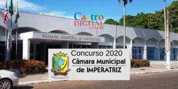 Edital do concurso 2020  da Câmara de Imperatriz – MA