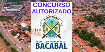 Concurso 2020 Prefeitura de Bacabal está autorizado, veja lista de cargos e vagas
