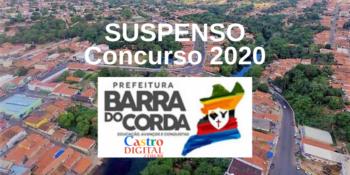 Concurso 2020 de Barra do Corda é suspenso por decisão judicial liminar