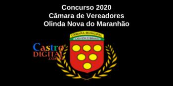Edital do concurso 2020 da Câmara de Olinda Nova do Maranhão