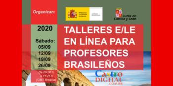 Inscrição para Professores de Espanhol em oficinas grátis online com certificado