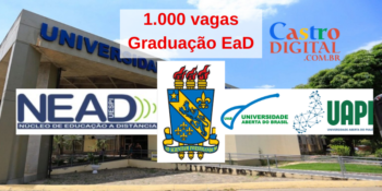 Universidade abre 1.000 vagas em graduação EaD grátis – Edital UAB UESPI 02/2020.2