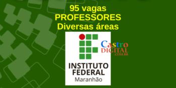 IFMA abre seletivo com 95 vagas para Professores de diversas áreas – Edital 218/2020