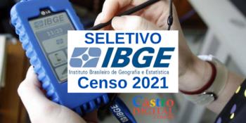 Seletivo IBGE para o Censo 2021 é confirmado com mais de 208 mil vagas