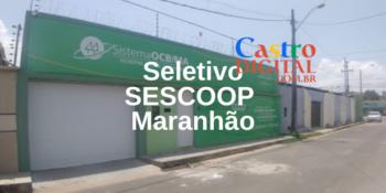 Edital do seletivo 2021 do SESCOOP Maranhão