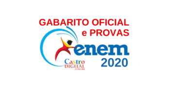 Gabarito oficial e provas do ENEM 2020 para download