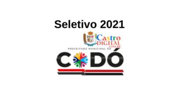 Edital do seletivo 2021 da Prefeitura de Codó – MA