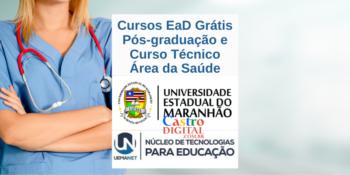 UEMA abrirá pós-graduação e curso técnico EaD na área da saúde pela UEMANET em 2021