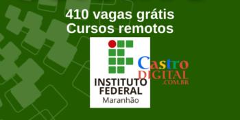 IFMA abre 410 vagas em cursos remotos grátis – Edital 01/2021