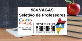 Seduc-MA abre 984 vagas para professores no Maranhão – Edital 04/2021 do seletivo para Educação Indígena