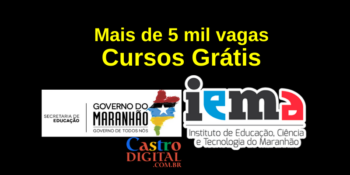 IEMA abre 5.490 vagas em cursos grátis no Maranhão – Edital Seduc-MA 10/2021