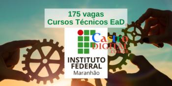 IFMA abre 175 vagas em cursos técnicos EaD – Edital 31/2021 Pronatec