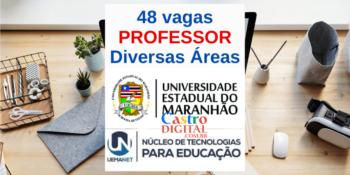 UEMA abre seletivos com 48 vagas para Professor – Editais UEMANET 05 e 06/2021