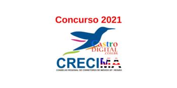 Edital do concurso 2021 do CRECI Maranhão