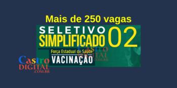 Maranhão abre 259 vagas para trabalho na vacinação em diversas cidades – Edital 02/2021 2º Seletivo FESMA