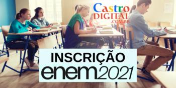 Inscrição para o ENEM 2021: 30 de junho a 14 de julho