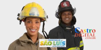 Prefeitura abre 50 vagas em seletivo para Bombeiro Civil em São Luís – MA – Edital 01/2021