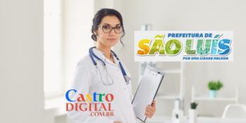 Prefeitura abre seletivo com 500 vagas para área da saúde em São Luís – MA – Edital 1/2021