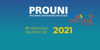 Resultado das chamadas do Prouni 2021.2