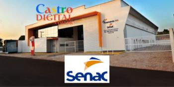 SENAC abre inscrição para 85 vagas em 4 cursos grátis – Edital 17/2021