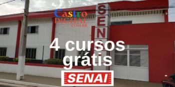 SENAI abre inscrição em 4 cursos grátis em Bacabal